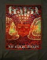 TOOL cd cvr 10,000 DAYS / WASHES Official Grey SHIRT XL new