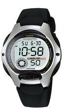Casio Women's Quartz Digital Illuminator Black Resin Band 35mm Watch LW200-1AV
