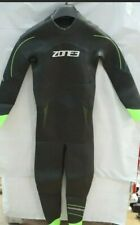 Zone3 Mens Azure Wetsuit - Wiggle Exclusive Size - SM BLACK/NEON GREEN