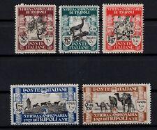 P129051/ LIBYA / ITALIAN COLONY / SASSONE # 81 / 85 MINT MNH – CV 550 $