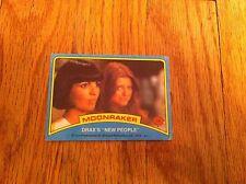 1979 Moonraker James Bond Trading Card #59 Drax's New People Oop Movie Film Rare