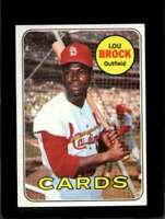 1969 TOPPS #85 LOU BROCK EX CARDINALS HOF  *XR11943