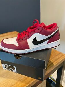 Jordan1 low noble red size 11.5 new