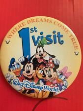 Walt Disney World Badge First Visit Were Dreams Come True