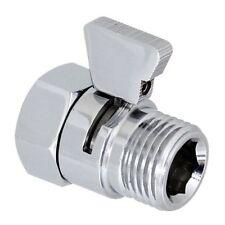 New Shower Flow Control Valve Brass Restrictor Reducer Shut-off Water Saving