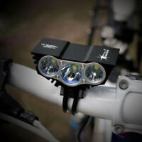 Hot SolarStorm Bicycle Light 15000Lm 3 x XM-L T6 LED 4 Modes Head Lamp