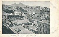 NAPOLI – Panorama dal Corso Vittorio Emanuele - Naples – Italy - udb (pre 1908)