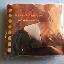 Nikken Kenkotherm Back Velcro Wrap #1732, White, Size Medium, NEW IN PACKAGE