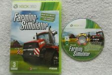 FARMING SIMULATOR XBOX 360 SIMUALTION V.G.C. FAST POST ( no games manual )