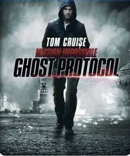 Mission Impossible Ghost Protocol (Triple Play Steelbook) [Blu-ray]