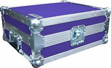 Technics SL1210 Turntable DJ Deck Swan Flight Case (Purple Rigid PVC)