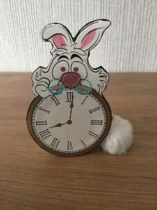 Primark Disney Alice In Wonderland Purse New Gift Collectable White Rabbit