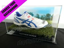 ✺Signed✺ Matthew Burke Football Boot Proof Coa Wallabies Waratahs 2019 Jersey