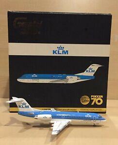 Gemini 200 KLM Cityhopper Fokker 70. Reg:PH-JCH. Item # G2KLM120 (First release)