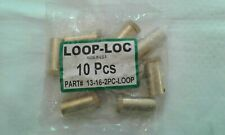 New Listing10 New Brass Loop-Loc Swimming Pool Safety Cover Concrete Anchors & Other Brands