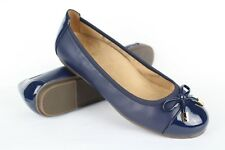 New Vionic Women's Spark Minna Ballet Flats Slip On Size 8.5 Wide Navy