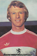 CALCIO FOTO > David Mills MIDDLESBROUGH 1977-78