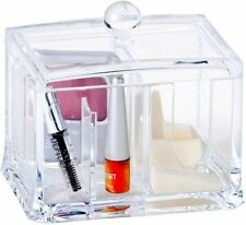 new caboodles crystal clear acrylic makeup cosmetic dispenser storage organizer