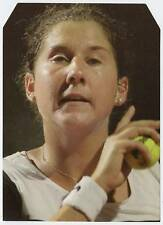 Scarce Trade Card of Monica Seles, Tennis 1997