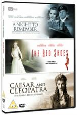 NEW A Night To Remember / Red Shoes / Caesar & Cleopatra DVD