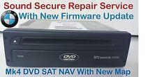 BMW 3 5 7 ser E46 E39 E38 X5 E53 DVD MK4 SAT NAV Navigation repair service