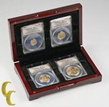 Monedas de oro MS 70