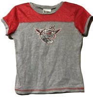Walt Disney World Rock N Roller Coaster Girls Youth Aerosmith Top Size Medium