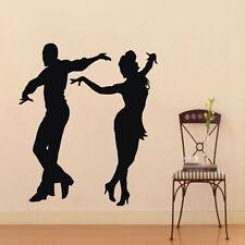 Wall Decals Dancer Vinyl Decal Sticker Sport Couple Dance School Gym Decor m28