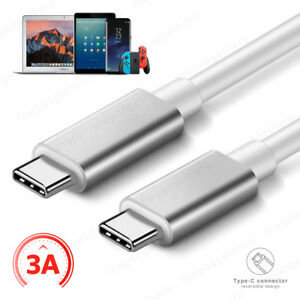 USB 3.1 Type C Cable 3A PD USB C to Type C Fast Charging Charger Data Cable Lead