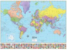 Brand new world map (American Map Corporation)