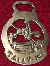 Brass Harness Decoration Tally Ho #2