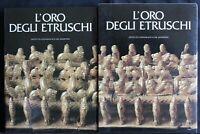 L'ORO DEGLI ETRUSCHI. AA.VV. Istituto geografico De Agostini.
