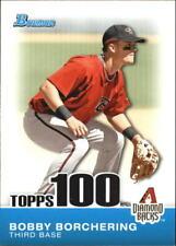 2010 Bowman Baseball Topps 100 Prospects #TP-26 Bobby Borchering