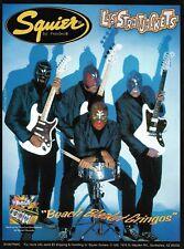 Viva Los Straitjackets Fender Squier guitar 8 x 11 advertisement 1997 ad print