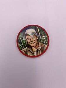 1960s KRUN-CHEE Potato Chips Space Coins  Space Magic #3 Major Virgil Grissom