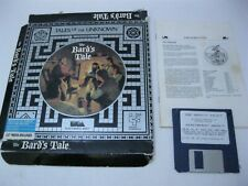 The Bard's Tale PC game box and manual Electronic Arts