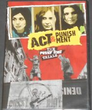 PUSSY RIOT act & punishment USA DVD new sealed RUSSIAN FEMALE PUNK ROCK BAND