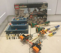 LEGO SYSTEM 7171 STAR WARS MOS ESPA PODRACE -100% COMPLETE, BOXED MINIFIGS 1999