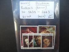 Belgium 1976 Rubens Artist (6v Set) (SG 2438-43) MNH