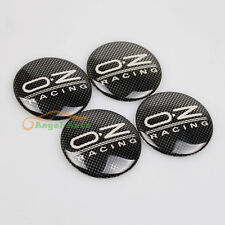 4PCS For OZ Racing Car Wheel Center Hub Caps Emblem Badge Decal Sticker