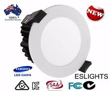 240V 12W SAMSUNG FROSTED WHITE DIMMABLE LED DOWN LIGHT DOWNLIGHTS COOL LIGHTING