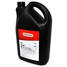 5 LITRE OREGON 2 STROKE OIL 90891 SEMI SYNTHETIC ENGINE OIL LOW SMOKE 50:1 25:1