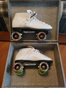 Riedell Roller Skates Size 11 Powell Rollerbones Case