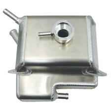 Moroso Coolant Reservoir 63814; Natural Fabricated Aluminum 2003-2012 Mazda RX-8