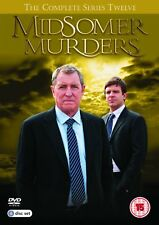 MIDSOMER MURDERS COMPLETE SERIES 12 DVD NEW REGION 2