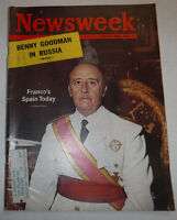 Newsweek Magazine Franco's Spain Today July 2, 1962 100316R2