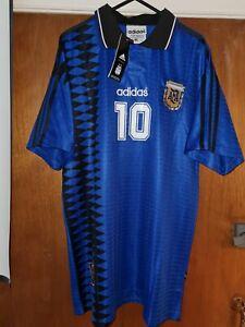Argentina Retro USA'94 Away Replica Shirt Diego Maradona 10 BNWT XXL fits like L