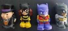 4 x Batman ooshies inc Penguin and Batgirl