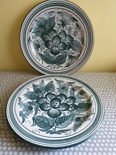 A Pair Of Vte Martinez Decorative Wall Plates. Made in Spain