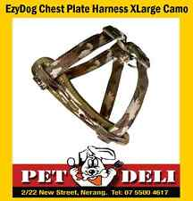 EzyDog Harness - Chest Plate - XLarge - Camo - Free Fastway Courier